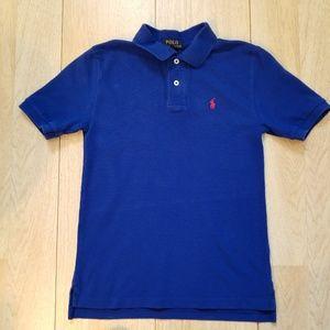 Ralph Lauren Polo Shirt Boy Med 10-12